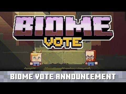 Biome the Vote: Choose Which Minecraft Biomes Get Updates, New Features