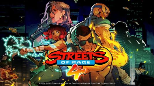 Adam Hunter Coming to Streets of Rage 4