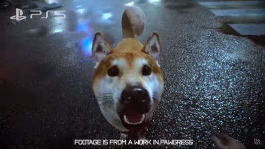 You can pet the dog in Ghostwire: Tokyo