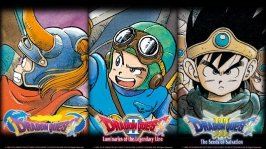 Dragon Quest I, II and III Confirmed for the West