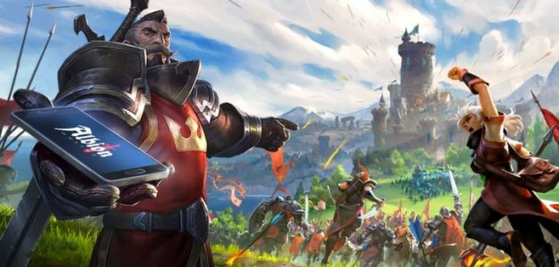 Albion Online is coming to Android, so you can get griefed on the go