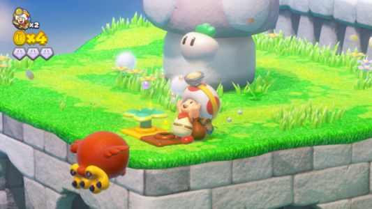 Free Captain Toad: Treasure Tracker Update Now Available To Add Two-Player Co-op