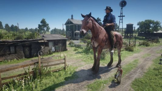 Become a giant or tiny cowboy with this Red Dead Redemption 2 PC mod