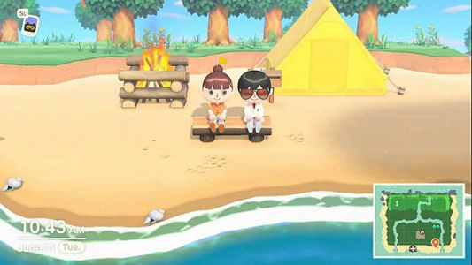 Animal Crossing: New Horizons Lets You Chat with Friends