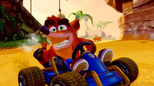 Crash Team Racing Nitro-Fueled Tops the UK Charts for Another Week