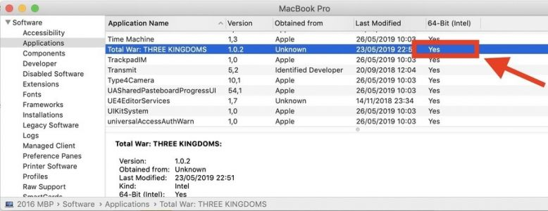 The complete list of 32-bit Mac games no longer supported