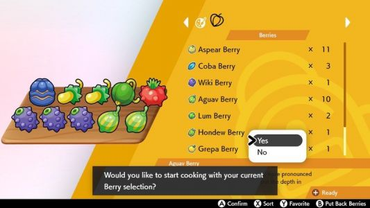 Pokémon Sword and Shield: Every Berry and where to find them