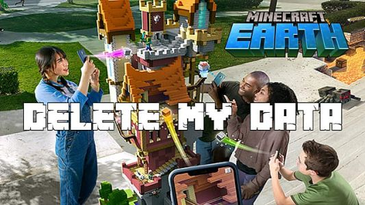 Minecraft Earth: How to Delete My Data