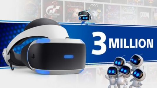 PlayStation VR has sold over 3 million units worldwide