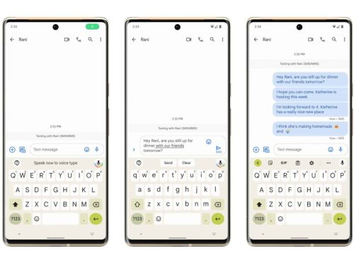 Assistant Voice Typing Makes Gboard On Pixel 6 Completely Hands-Free