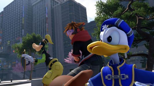 Kingdom Hearts 3 Trailer Features Sora and Friends Standing Together