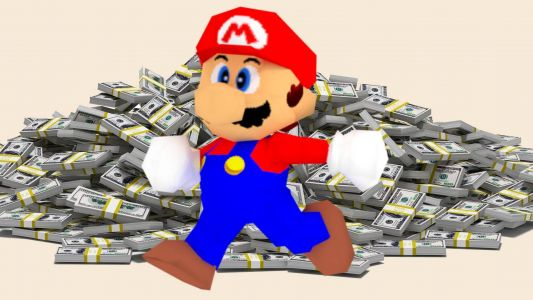 Sealed copy of Super Mario 64 sells for $1.5million