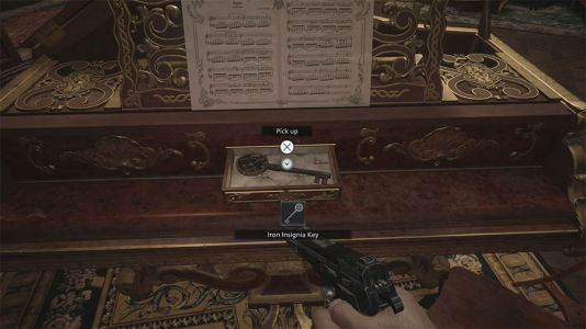 Where To Find The Iron Insignia Key In Resident Evil Village