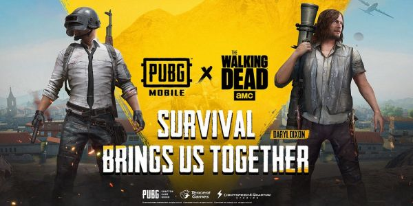 PUBG Mobile Adding The Walking Dead's Daryl Dixon As Playable Character