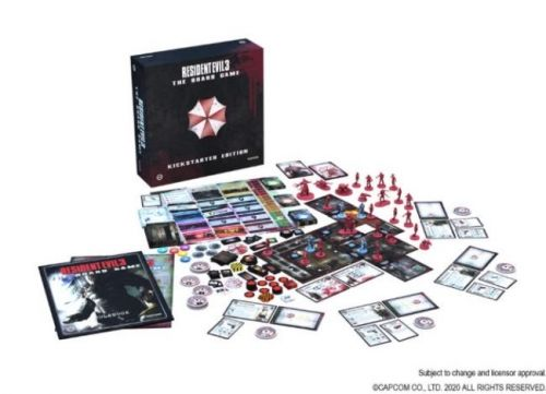 Kickstarter Campaign for Resident Evil 3: The Board Game Launches Later This Month