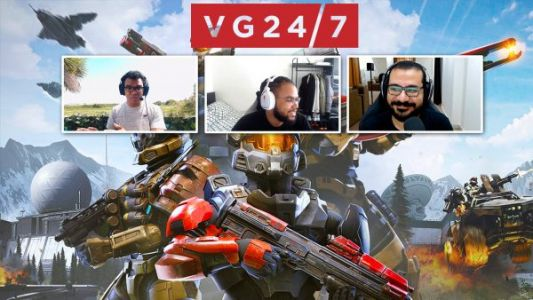 Who got into the Halo Infinite test? Is The Ascent finally a killer cyberpunk game? - VG247's Definitely Not a Podcast Video Chat 6