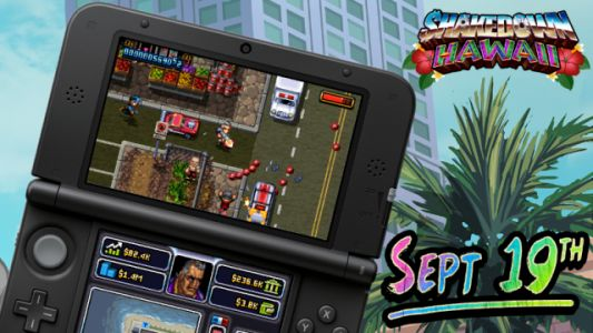 Shakedown: Hawaii Launches on 3DS September 19