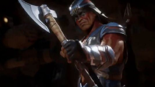 Nightwolf wants to axe you nicely in Mortal Kombat 11