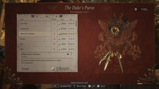 Resident Evil Village Selling items: what to sell from your valuable treasure