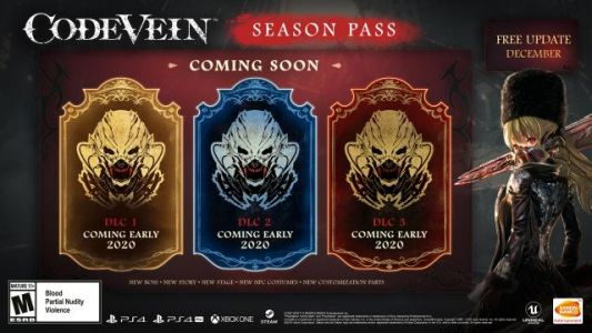 Code Vein Season Pass DLCs to Release in in Early 2020