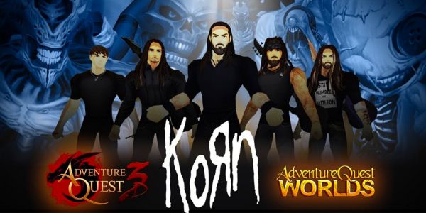 Korn is Playing Live Concert in AdventureQuest 3D | Game Rant