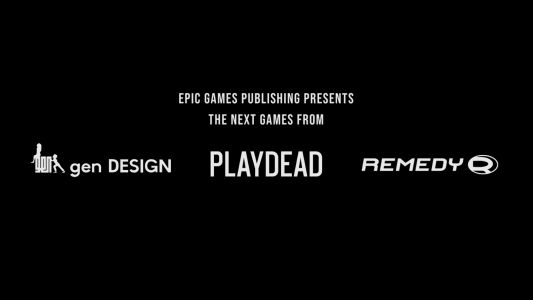 Epic Games Announces Publishing Partnerships With Remedy Entertainment, genDesign, and Playdead