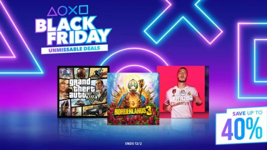 PlayStation Store Black Friday Deals Discounts Games Up to 40% Off