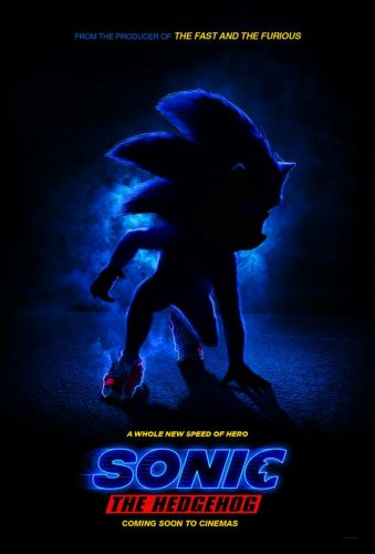 Sonic the Hedgehog Live-Action Flim Poster Released