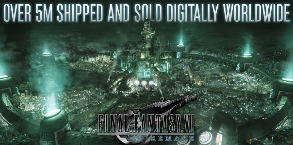 Final Fantasy VII Remake 'ships and digitally sells' over five million copies as of today
