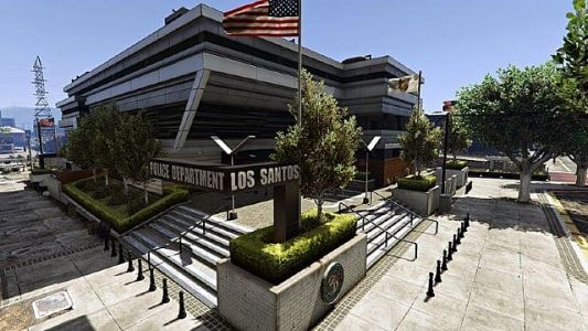 All GTA 5 Police Station Locations