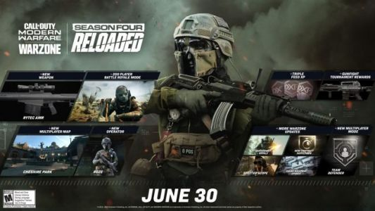 Call of Duty: Warzone Getting 200 Player Lobbies, Juggernaut Royale in New Season Four Reloaded Update