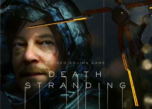 Death Stranding's box art keeps the Kojima/Norman Reedus bromance alive