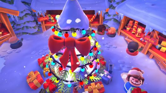 Overcooked 2 has a Winter Wonderland update for the holidays