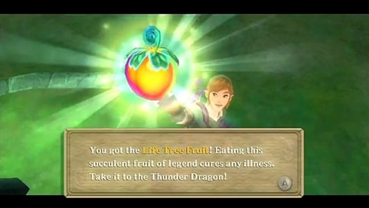 Skyward Sword: Where to Plant the Tree of Life