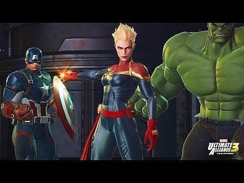Checkout Captain Marvel in this new Marvel Ultimate Alliance 3 trailer