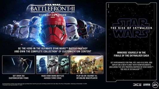 Star Wars Battlefront II Getting Celebration Edition, Playable BB-8 and BB-9E