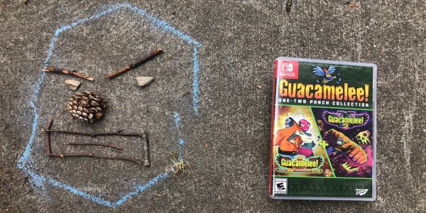 Guacamelee One-Two-Punch boxed edition is helping me raise my child