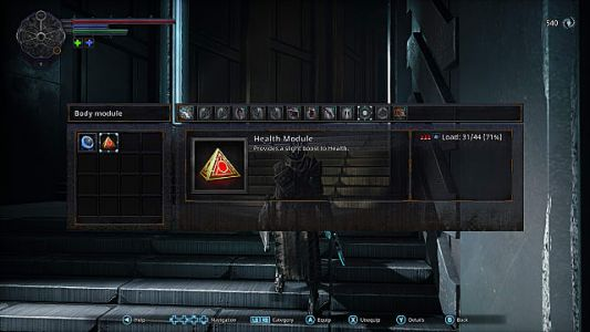 Hellpoint Guide: How to Find the Health Module