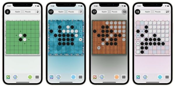 'Piccolo: Othello' is a Beautiful Minimalistic Board game Available on iOS