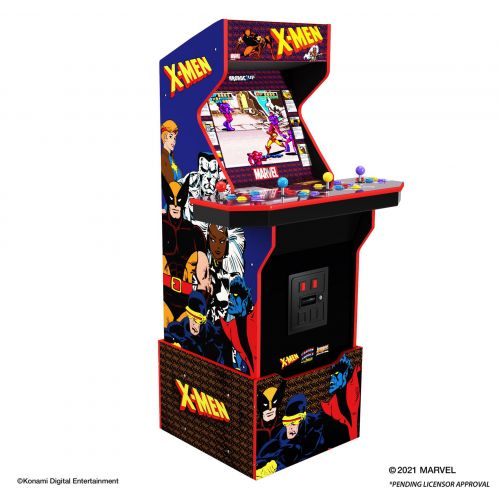 E3 2021: An X-Men 4 player cabinet is coming from Arcade 1Up