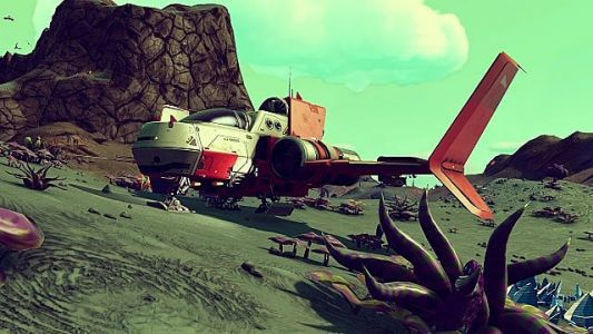 How to Land in No Man's Sky