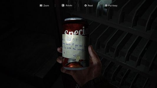 The Last of Us 2 Soda Can Code