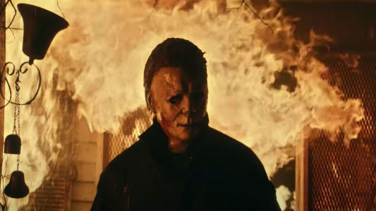 Halloween Kills Trailer Shows Michael Myers Defy Fire Safety
