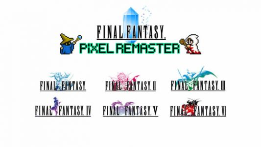 Final Fantasy I through VI are getting remastered again, this time with 2D pixel graphics