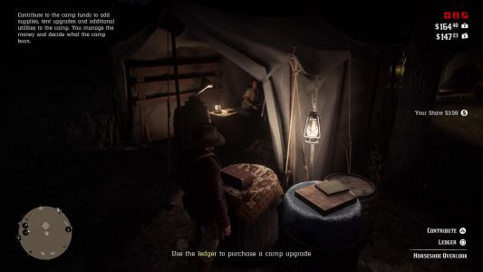 Red Dead Redemption 2 Camp Upgrades Guide - tips, ledger, and leather working tools
