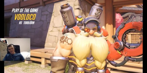 Blind Twitch Streamer Gets Play of the Game in Overwatch Four Times In A Row