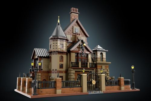 The Dollhouse from 'The Room: Old Sins' is Now an Amazing LEGO Ideas Project